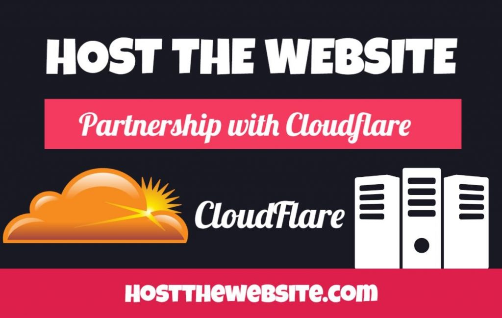Clouflare partnership Hostthewebsite